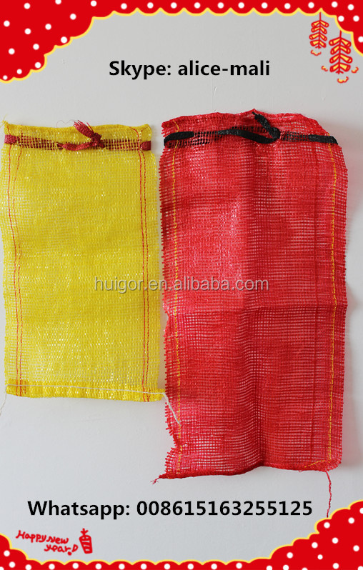 China factory cheap Wholesale UV Plastic Kindling Mesh Bag