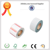 2014 Hot sale direct thermal label through TUV audit