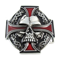 Manufacturer Belt Accessories Custom Skull Pin Belt Buckle
