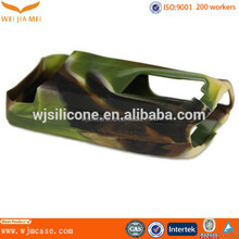 Colorful Soft Walkie Talkie Camo Custom Silicone Cover Manufacturer