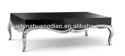 Black and red coffee table HDCT072