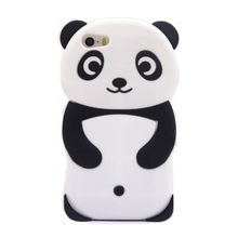 2017 <strong>Fashion</strong> 3d cartoon forest animals classic mascot cute love panda bear soft silicone celll phones case cover skin For Iphone