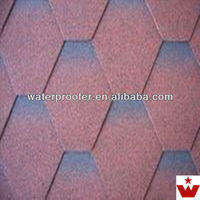 best bitumen 3-tab fiberglass asphalt shingle