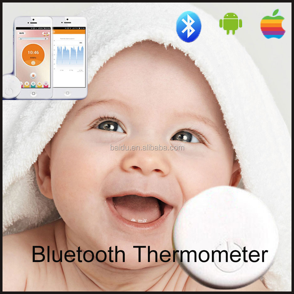 New product 2016 temperature alarm baby monitor wireless body temperature monitor for baby