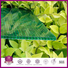 100% virgin Sabic material 10 years quality guarantee Anti-fog hollow polycarbonate sheet for greenhouse 2100*5800mm