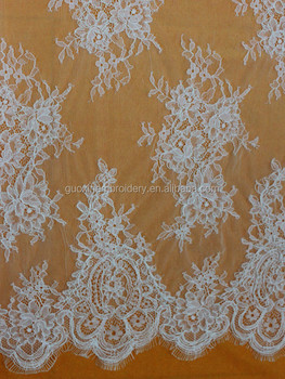 2015 Hot selling strench spandex nylon elastic lace fabric