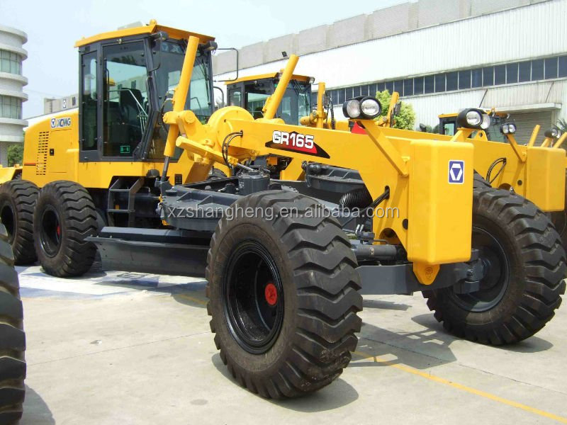 XCMG Mini Motor Grader GR165 with grand and nice Cab