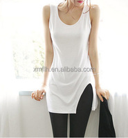 2016 Summer Women Pure Color Tanks Camisole T-Shirt Top Modal Singlet 3 Sizes Blusas