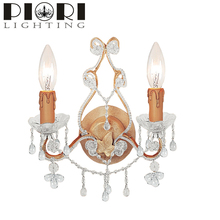 Decorative high quality modern wall crystal chandelier lighting