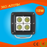SPOT LED Light Work Led Work Light 12w Lamp Driving Fog Offroad SUV 4WD Car Boat Truck