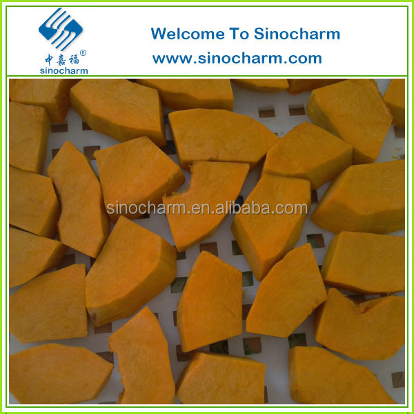Fresh IQF Frozen Food Pumpkin