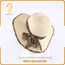high quality taiwan raffia paper straw promotional private label hat chapeu