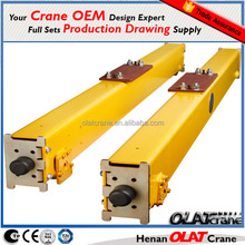 3D Design Drawing Customizable european suspension crane kit of end carriage / end truck / end beam for rail mounted cantilever