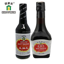 Bottle Packing Non-Gmo Light Soy Sauce Brands No MSG Less Salt