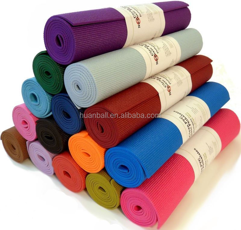 embossing softextile eco printed pvc mat for yoga
