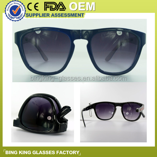 The new folding eyewear for men and women, glasses can do custom logo SUNGLASSES