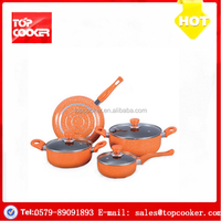 New Arrival Aluminium Forged Nonstick Italian Cookware Sets