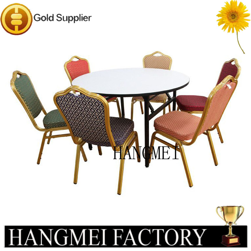 High Quality Price Steel Aluminium Hotel Banquet Chair HM-S106