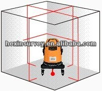 China brand laisai brand cross line laser level
