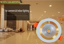 high quality dimmable cob led lighting downlights 5w slim