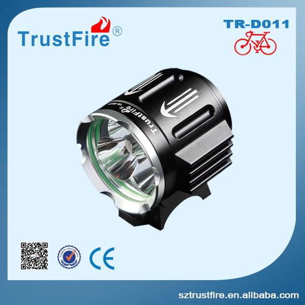 Trustfire D011 rechargeable bike lights,2100lm 5 Aluminum Alloy lowest price led bike lights custom