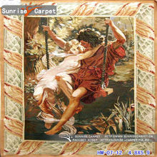 Aubusson oriental painting decration tapestry