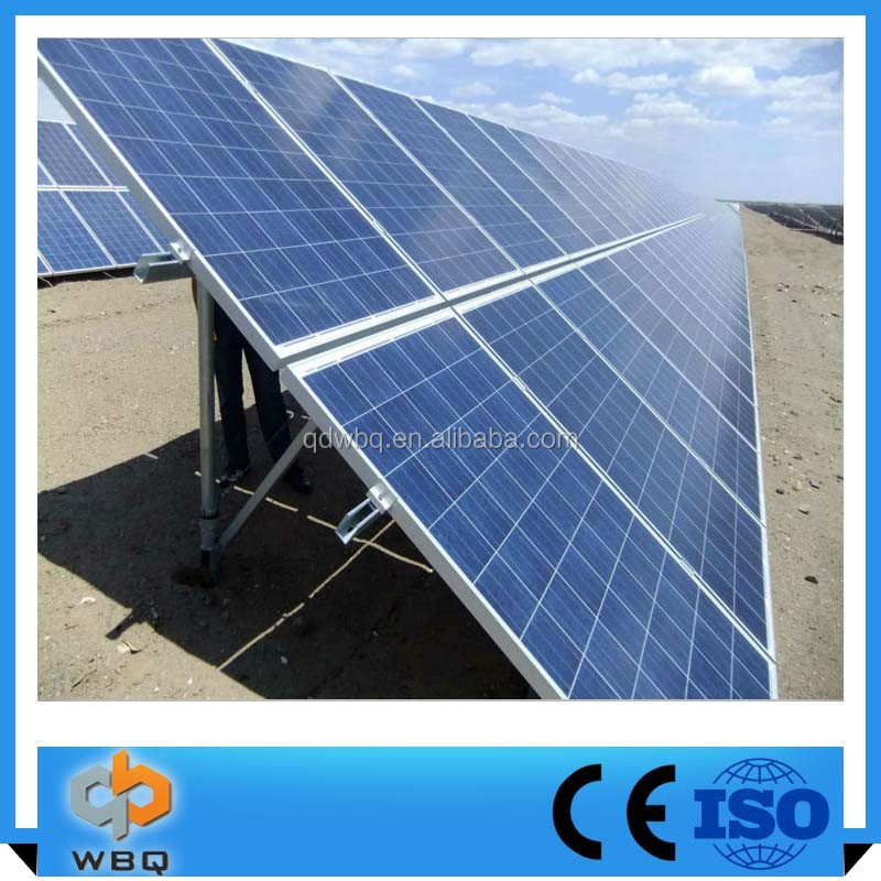 Solar Pv Panels Pile Ground Mounting