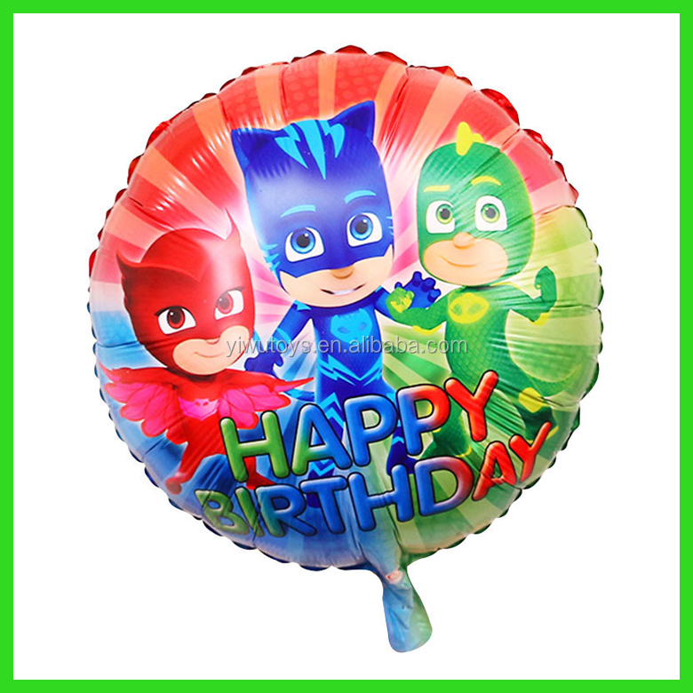 china product Cartoon characters PJ Masks balloon