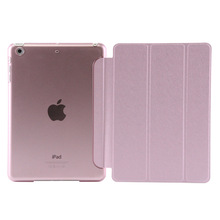 Tri-folding Tablet PU Leather Stand Case for iPad Air 1 /2