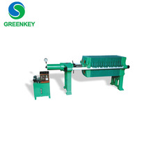 sludge dewatering Membrane Filter Press for palm fruit oil press for industries, chemical