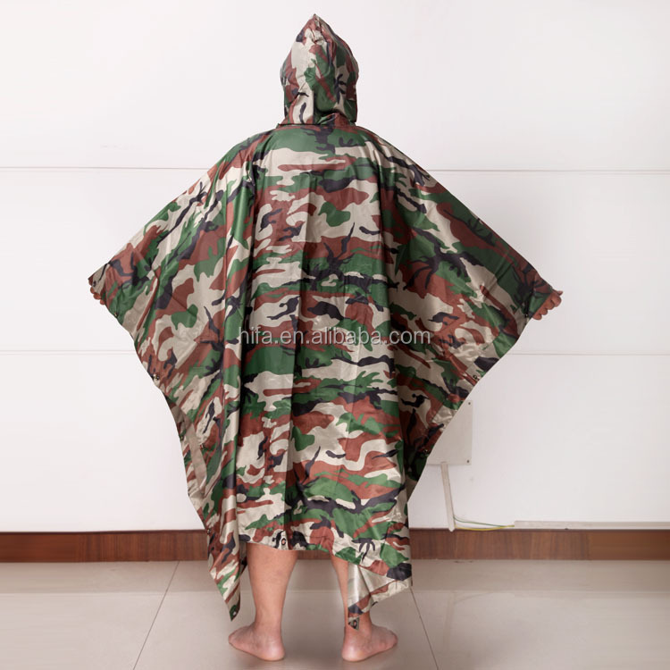 military poncho raincoat,military poncho,military camouflage fabric  (3).jpg