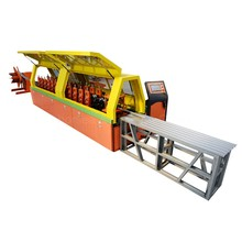 innovative crimping hamburger and saussage forming rolling door slat making machine