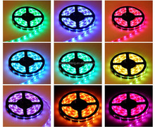 5050 rgb led strip light led lights changeable color