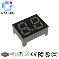 Wire bonding type common anode blue color 0.78 inch 2 bit temperature display for electric heater
