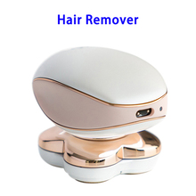 18K Gold Plated Heads Lady Electric Hair Removal Shaver Legs Women's Hair Remover