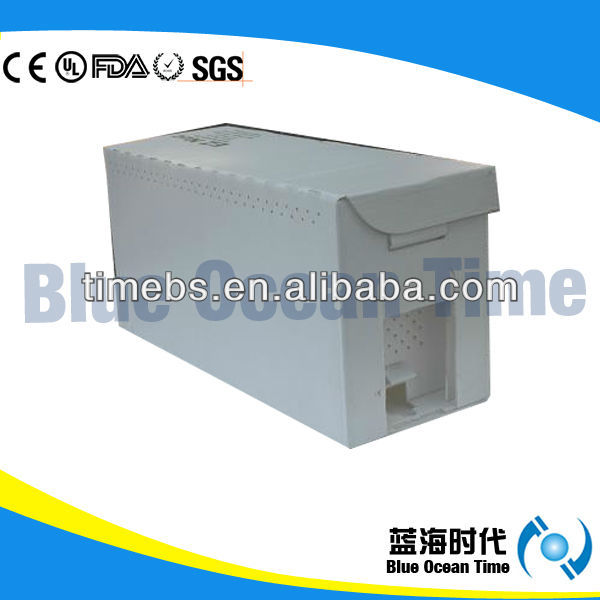 White pp coroplast Nuc box for beekeeping