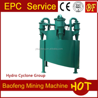 Consume less power mining machine hydrocyclone for classifying used in the minerals industry
