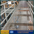 Metal galvanized steel bar grating for mezzanine flooring