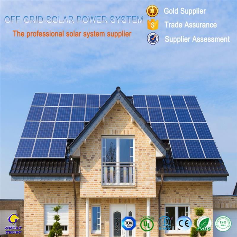1500w solar panel for solar power system home with great price