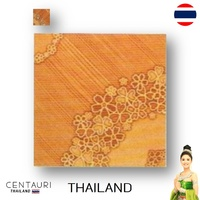 glazed 300*300 mm new blown light blown tan flower pattern Thai porcelain interior tile and tile 30*30 cm from Thailand