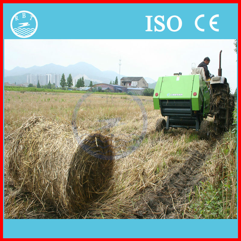 Best farm machinery self-powered rice straw baling machine for sale