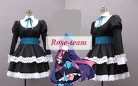 Fantasia Anime Lolita Dress-Hot Selling Panty & Stocking with Garterbelt Panty Cosplay Costume Cheap Costumes C0571