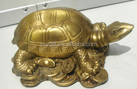 brass tortoise statue/copper money tortoise decor wholesale fengshui arts & crafts
