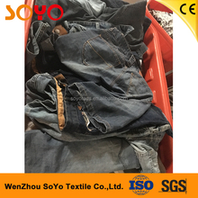 summer pants/jeans second hand mens clothing used clothes for Kenya