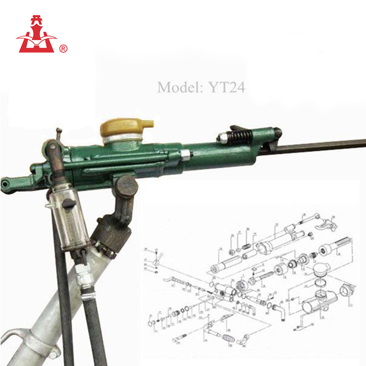 Kaishan High Efficiency yt28 air leg rock drill