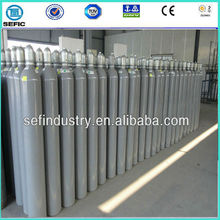 ISO9809-1 50L Industrial Used High Pressure Oxygen Gas Tank