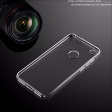Clear Soft Ultra Slim TPU Phone Cases For Huawei P8 lite 2017 Back Cover
