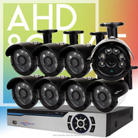 Vitevison brand security camera system 8 channel outdoor AHD DVR Kit with optional AHD camera