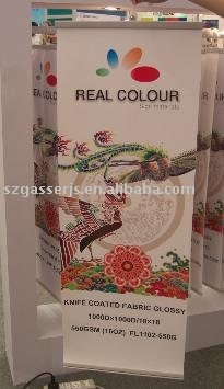 Hanging scroll roll up banner
