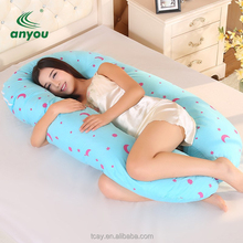 2018 hot sell sleeping pregnancy body pillow/maternity pillow for women